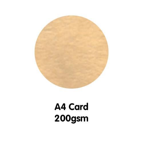 Marble Paper A4 200gsm Grecian Tan