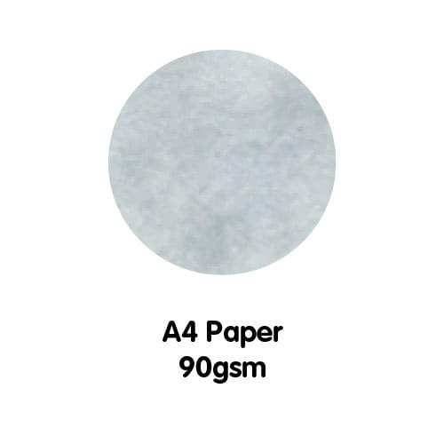 Marble Paper A4 90gsm Rhodes White