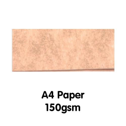 Parchment Paper A4 150gsm Apricot