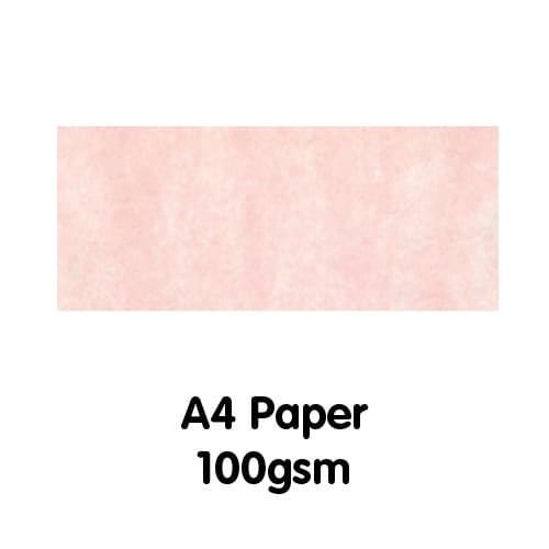 Parchment Paper A4 100gsm Rose