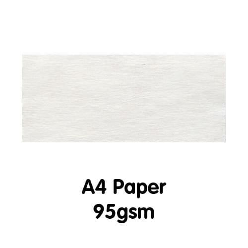 Parchment Paper A4 95gsm White