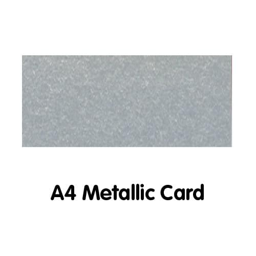 Metallics Paper A4 250gsm Silver