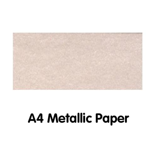 Metallics Paper A4 120gsm Pink