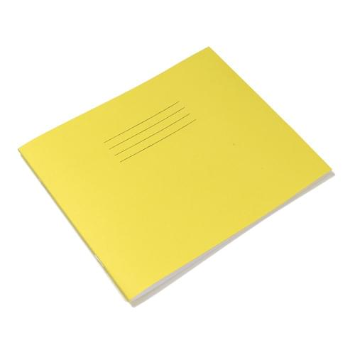 Rhino 6.25x8in 159x203mm Oblong Infant Books Plain Unruled Yellow 32 Pages