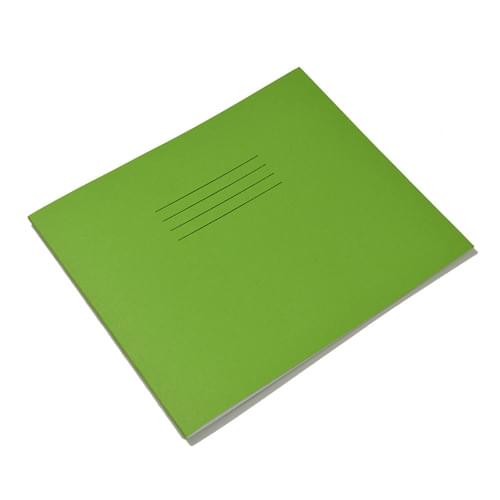 Rhino 6.25x8in 159x203mm Oblong Infant Books 15mm Ruled Light Green 32 Pages