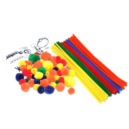 Pom Pom Beads Kit