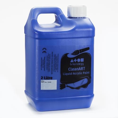 CleanART Acrylic Paint 2L Blue