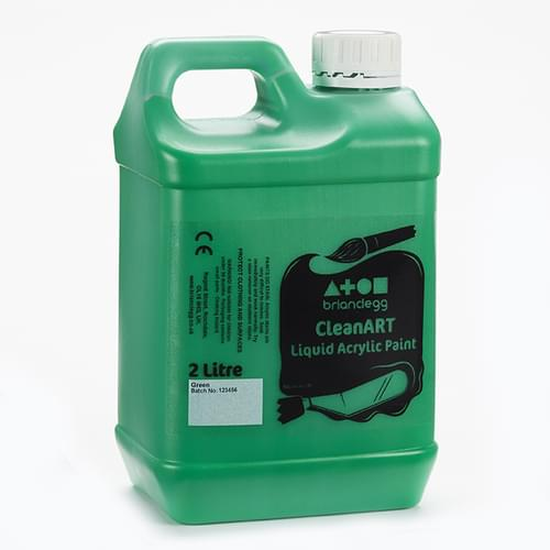 CleanART Acrylic Paint 2L Green
