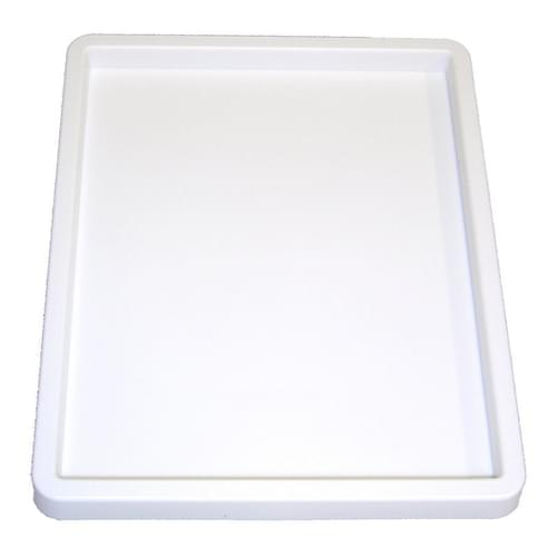 White Plastic Colour Mixing Tray