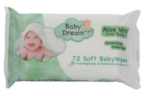 Baby Dream Aloe Vera Baby Wipes