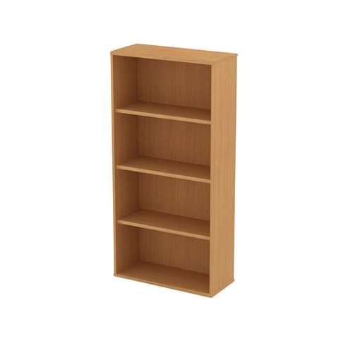Universal Open Bookcase 1000x1657mm - Canadian Maple MFC