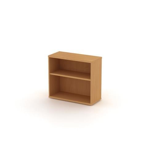 Universal Open Bookcase 1000x725mm - Beech MFC