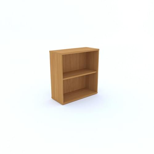 Universal Open Bookcase 1000x847mm - Canadian Maple MFC