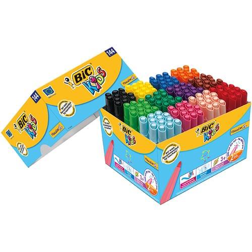 BIC Kids Visacolor XL Colouring Pens Classpack of 144