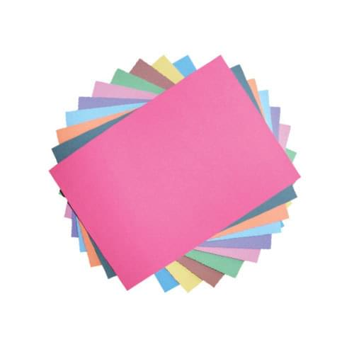 230 Micron A4 Bright Card Assortment 200 Sheets