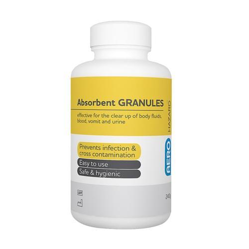 AeroHazard Body Fluid Absorbent Granules