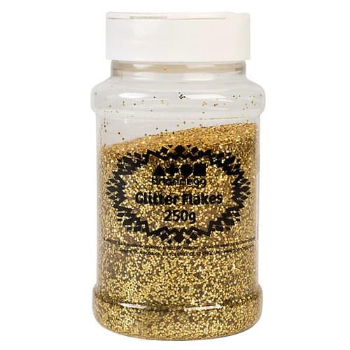 Glitter Shaker 250g Gold