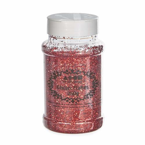 Glitter Shaker 250g Red