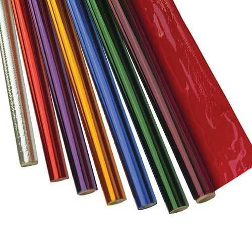 Cellophane Wrap 24gsm 500mm x 5m 7 Roll Assortment