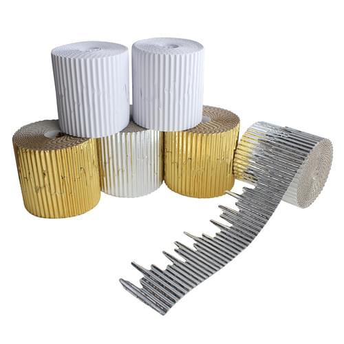 Icicle Corrugated Border Roll Assortment