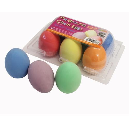 Playground Chalk Eggs