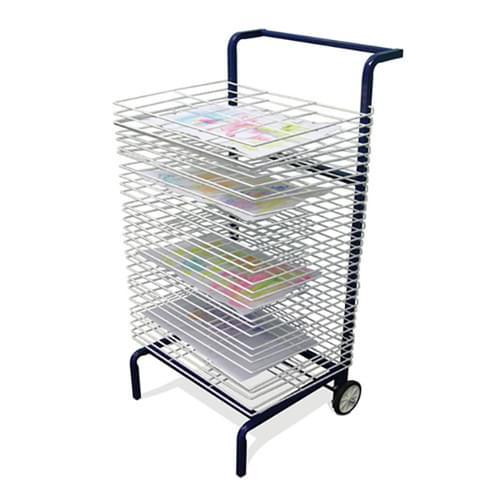 30 Shelf A3 Mobile Drying Rack