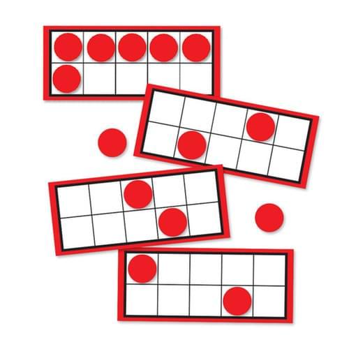 Ten Frames & Counters Card Set