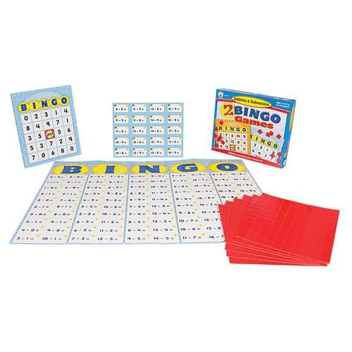 Addition & Subtraction Bingo Board Game