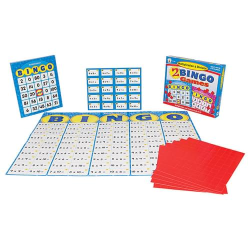 Multiplication & Division Bingo Board Game