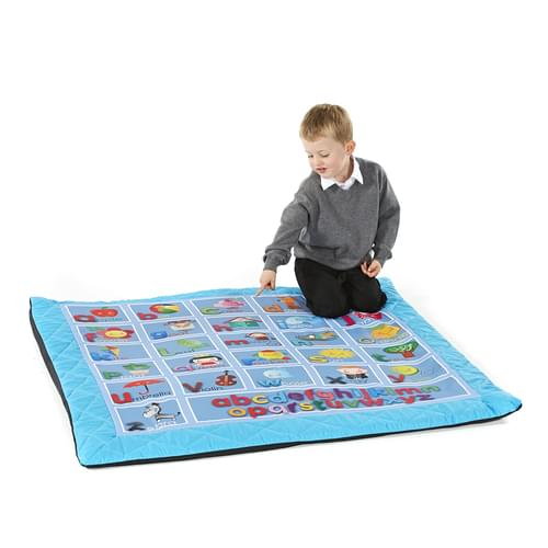 Alphabet Quilted Mat 1200x1200mm