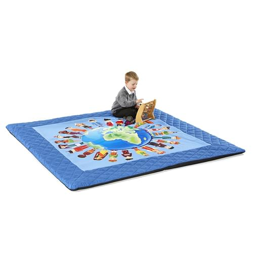 Children of the World Quilted Mat 2000x2000mm