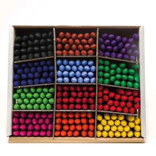 Chubbi Stumps Wax Crayons Assorted Classpack of 288