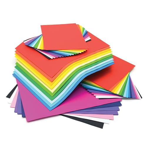 Vivid Card Stack Combo Pack 125gsm 125 A3 + 250 A4 Sheets