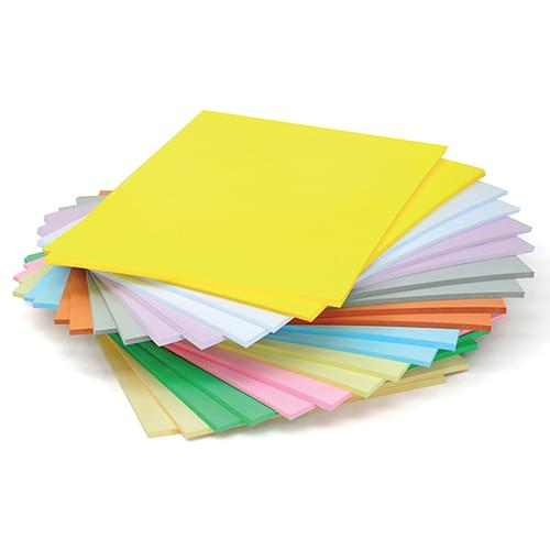 Pastel Card Stack A4 125gsm 500 Sheets
