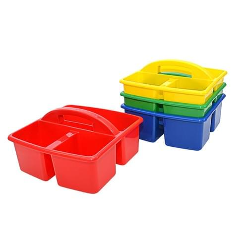 Stackable Desktop Storage Caddies Set of 4