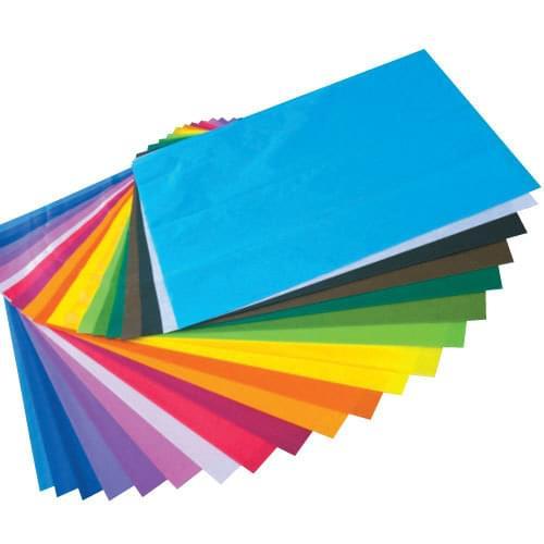 Tissue Paper 508x762mm 20 Colours 20 Sheet Assortment