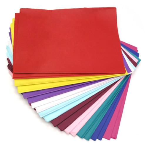 Tissue Paper 508x762mm 10 Colours 480 Sheet Assortment