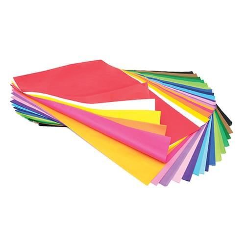 Tissue Paper 508x762mm 20 Colours 480 Sheet Assortment