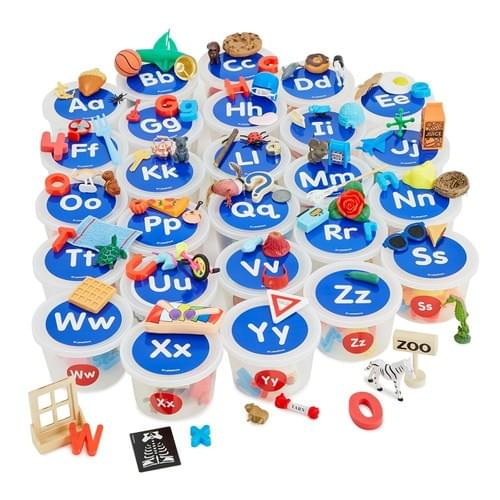 Alphabet Sounds Teaching Tubs Set