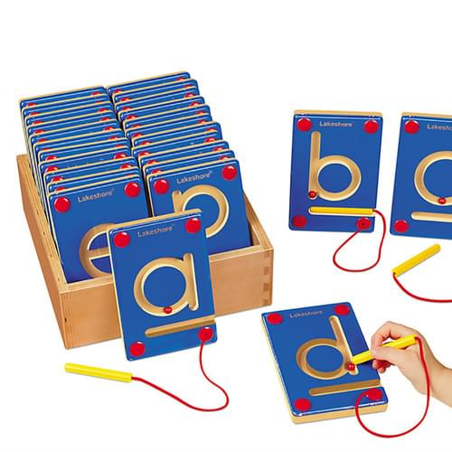 Lower Case Magnetic Learning Letters Set