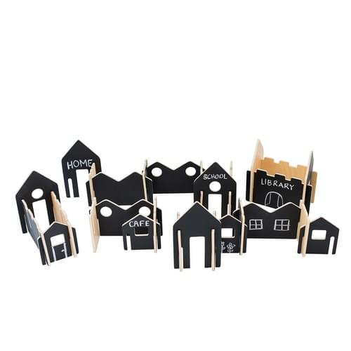 Happy Architect Create & Play Village Set