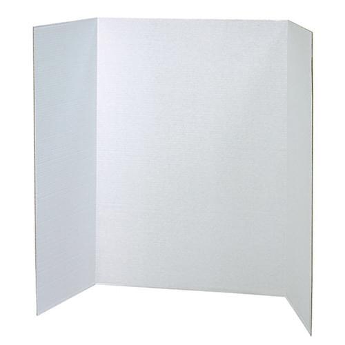 Tri-fold Presentation Board White Pk4