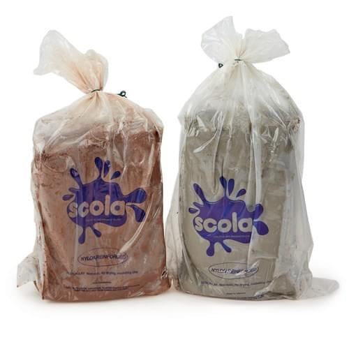 Scola Air Hardening Clay Terracotta 12.5kg