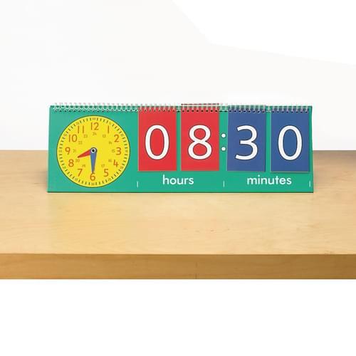 Edx Tell Time Teacher Flip Chart