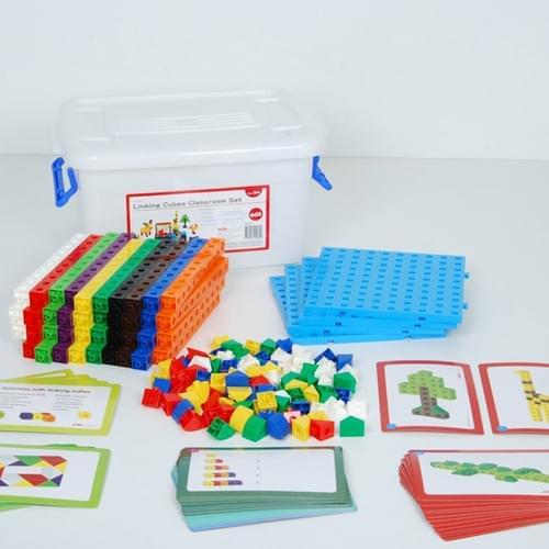 Edx 2cm Linking Cubes Classroom Set