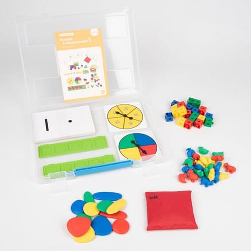 Edx Early Maths 101 to Go Number & Measurement Level 1 Set