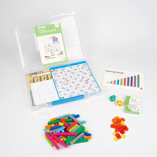 Edx Early Maths 101 to Go Number & Measurement Level 3 Set