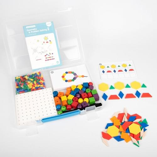 Edx Early Maths 101 to Go Geometry & Problem Solving Level 2 Set