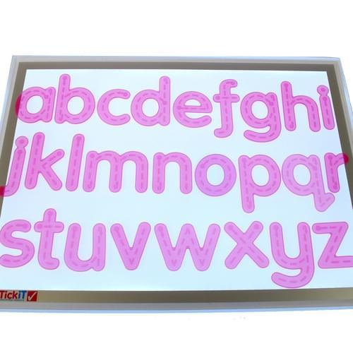 TickiT SiliShapes Trace Alphabet Set