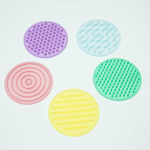 TickiT SiliShapes Sensory Circle Set